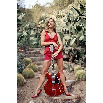 Sheryl Crow poster Metal Sign Wall Art 8in x 12in