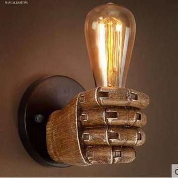 Edison Wall Sconce Retro Wall Lamp Fixtures Creative Personality Loft Industrial Vintage Wall Light Lampe