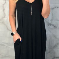 Take a Minute Pocket Maxi Dress