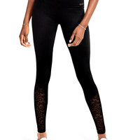 PINK Online Exclusive Ultimate High Waist Lace Legging - PINK - Victoria's Secret