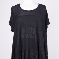 Free People Anything & Everything Black Top