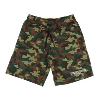 THE STANDARD SWEAT SHORTS - CAMO