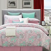Walmart: Flower Power Cotton Comforter Set