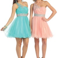 TheDressOutlet Homecoming Short Cocktail Prom Mini Dress