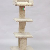 """DELUXE CAT TREE 3 STORY WITH TRAY 48"""""""
