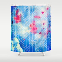 Eight Nights of Glory Shower Curtain by 83oranges.com