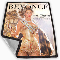 beyonce the mrs carter Blanket for Kids Blanket, Fleece Blanket Cute and Awesome Blanket for your bedding, Blanket fleece *