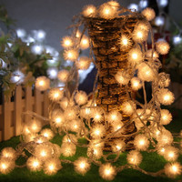 4M Battery LED String Lights Event Lightinging Luzes De Natal Dandelion Casamento Wedding Fairy Lights Natal Edelweiss Christmas Lights Outdoor Alternative Measures