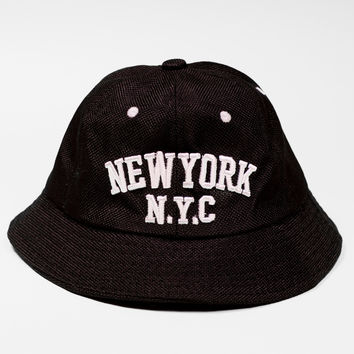 New York N.Y.C Denim Bucket Hat