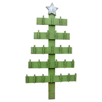 Advent Calendar Tree, Pine Green, Holiday Objets