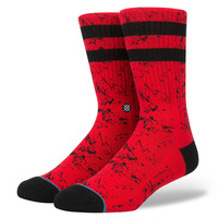 Stance Sprayd Socks In Red
