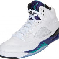 "Finish Line Blog |   From the Stock Room: Air Jordan Retro 5 ""Grapes"""