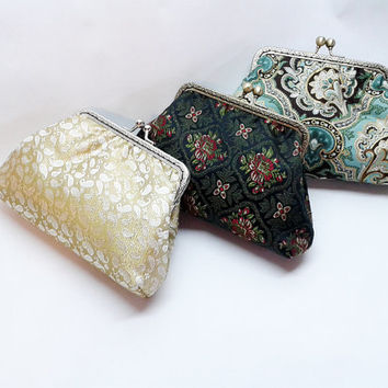 Bridal Clutch Purse - Bridesmaid Clutch Purse - Wedding Clutch Purse - Evening Clutch Purse