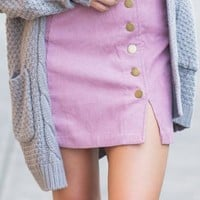 The Latest And Greatest Skirt, Mauve
