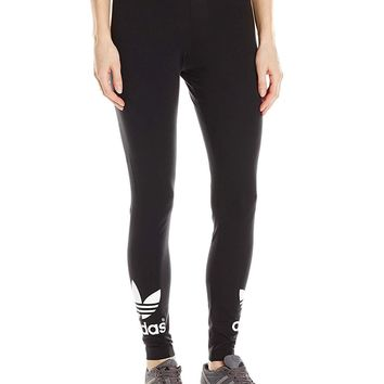 size 40 590ad c6255 adidas Originals Women s Trefoil Leggings