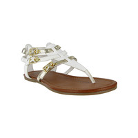 White multi Joplin Sandal by MIA