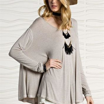 Formation Oversized Swing Tunic Top