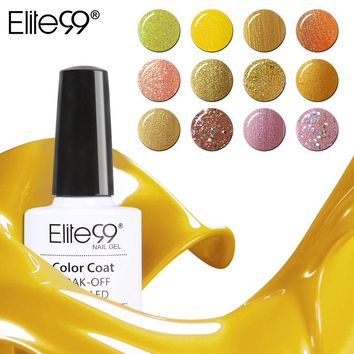 Elite99 New Yellow Series Gel Polish Nail Gel Soak Off UV Gel Polish Choose Any 1 Color Nail Gel Varnish 24 Colors