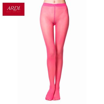 Subtle transparent tights color Cyclamen