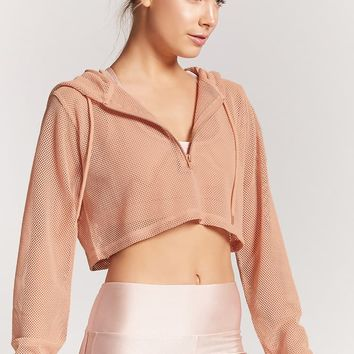 Active Sheer Mesh Top - Women - New Arrivals - 2000253424 - Forever 21 Canada English