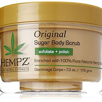 Hempz Original Herbal Sugar Body Scrub, 7.3 Fluid Ounce