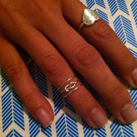 3in1 Adjustable Ring, Infinity and Swirl Ring