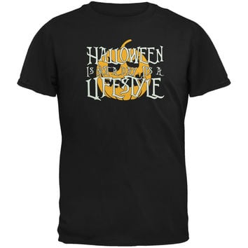 Halloween Lifestyle Black Youth T-Shirt