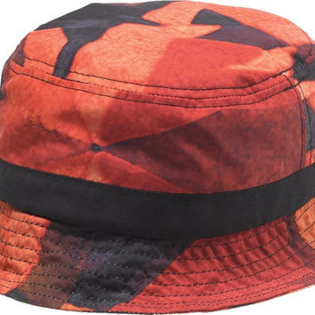 Diamond Simplicity Bucket Hat Small/ Medium Red