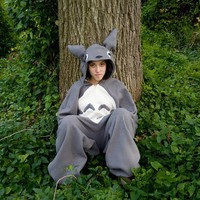 Totoro Costume by forgetmenot1854 on Etsy