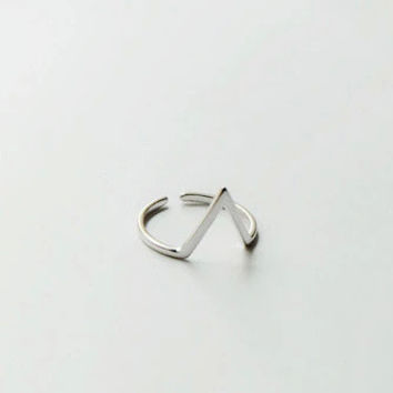 Jewelry Shiny New Arrival Gift 925 Silver Stylish Simple Design Korean Accessory Ring [8380583431]