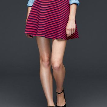 Gap Women Stripe Flare Skirt
