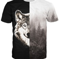 Half Wolf T-Shirt