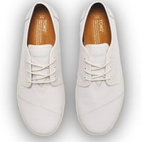 WHITE LEATHER MEN'S PASEOS