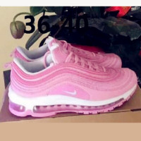 NIKE AIR MAX 97 Fashion Running Sneakers Sport Shoes pink H Z