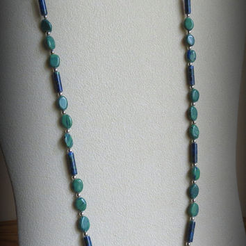 Adventurine Necklace, with Sterling Silver, Statteam