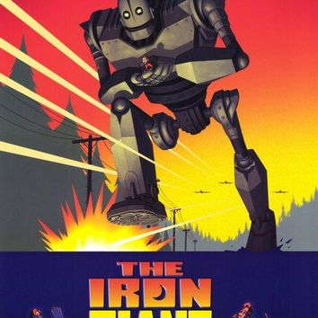 The Iron Giant 11x17 Movie Poster (1999)