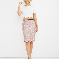 CALCULATED FABULOUS SEQUIN SKIRT