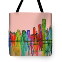 Chicago Flow Stage One Tote Bag