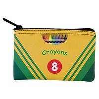 Crayon Box Coin Purse