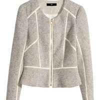 H&M - Short Jacket - Natural white - Ladies
