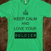 Love your soldier - The Kay Designs