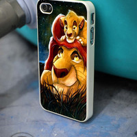 Mufasa and Simba the lion king iPhone 4 5 5c 6 Plus Case, Samsung Galaxy S3 S4 S5 Note 3 4 Case, iPod 4 5 Case, HtC One M7 M8 and Nexus Case