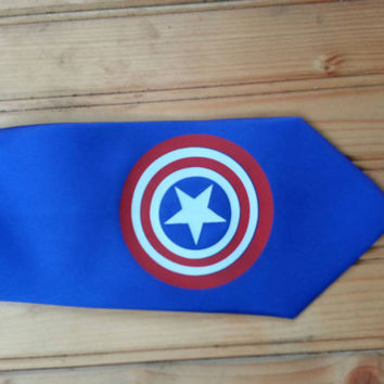 super hero mens necktie