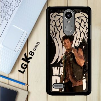 The Walking Dead Daryl Dixon Wings Z2791 LG K8 2017 / LG Aristo / LG Risio 2 / LG Fortune / LG Phoenix 3 Case