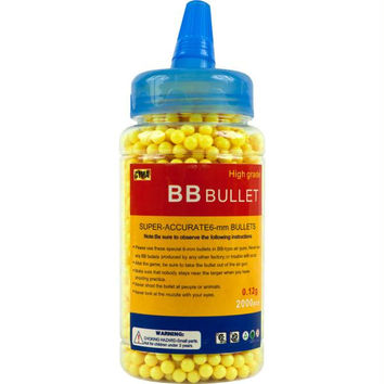 Whetstone  Airsoft 0.12g 6mm BB - 2000 w- Quick Load Spout -