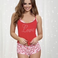"Jersey ""Love"" Cami Set"