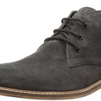 KENNETH COLE REACTION MENS PROVE OUT CHUKKA BOOT, CHARCOAL, 9 M US