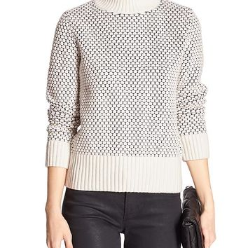 Banana Republic Factory Tile Stitch Sweater