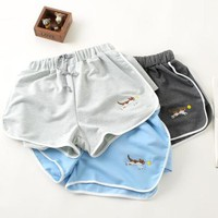 Retro Cat Hot Shorts sold by Moooh!!