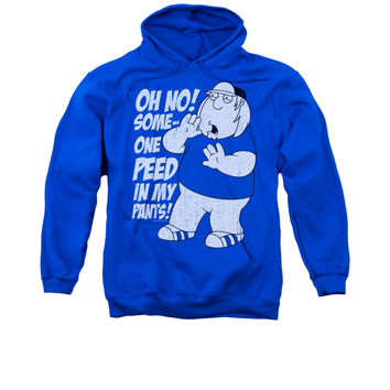 FAMILY GUY IN MY PANTS Adult Fleece Pull Over Hoodie